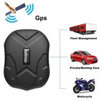 gps del coche al por mayor-TKSTAR TK905 Rastreador GPS de banda cuádruple Resistente al agua IP65 Dispositivo de rastreo en tiempo real Coche Localizador de GPS 5000mAh Batería de larga duración Standby 120Días