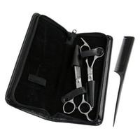 ножницы для прореживания кашо оптовых-2 парикмахерские ножницы из нержавеющей стали скульптор палец отдых 6.5 6