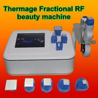 Wholesale thermage for face lifting - thermage equipment for sale Facical care wrinkle removal Microneedles Fractional RF Face Skin Lifting Body microcurrent face lift machine
