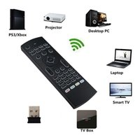 Wholesale touch learning - MX3 2.4GHz Wireless Keyboard Air Mouse Remote Controller Somatosensory IR Learning 6 Axis For MX3 MXQ M8S S905 STB Android TV BOX