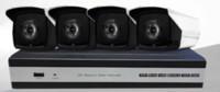 sistema de vigilância completo venda por atacado-2018 hotsale 1920x1080 P 2 Mp à prova de água ao ar livre POE IP IR80M dia e noite Bala câmera com 4 portas POE NVR kit POE kit câmera de CCTV