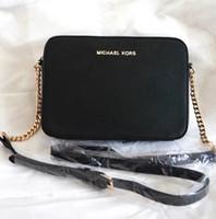 Wholesale women crocodile shoulder bag - 2018 New Designer Handbags leather embossed fashion Women bag chain Crossbody Bag Brand Designer Messenger Bag sac a main #3038