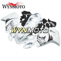 Wholesale Hayabusa Fairing Injection - Full Fairings For Suzuki GSXR1300 Hayabusa 2008-2016 09 10 11 12 13 14 15 Injection Body Kit Motorcycle Fairing Cowling White Black