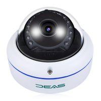 cámaras de seguridad a prueba de vandalismo al aire libre al por mayor-SV3C SV - D02POE - 1080P Full HD 1080P Dome POE Cámara de seguridad interior a prueba de vandalismo IP66 a prueba de agua
