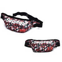 Wholesale jogging chest pack - hot Waist Pack Unisex Oxford Cloth Waist Bag Chest Pack Nylon Lether Men Casual Practical Crossbody Bag