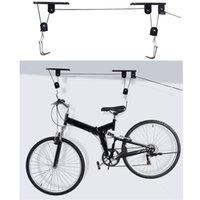 Bicycle Lift Bike Ceiling Mount Hoist Garage Storage Display Pulley Hanger Rack