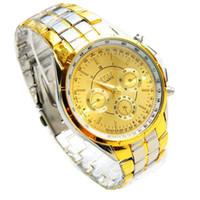 часы наручные оптовых-Men's watch Quartz watches Gold Wrist Watch Men 2017 Top  Famous Male Clock Golden Wristwatch Relogio Masculino