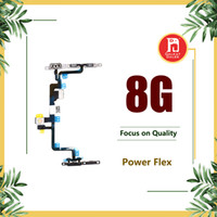 Wholesale connector locking for sale - Group buy For Apple iPhone quot Power Flex Ribbon with Metal Plate Lock Bracket Volume Power OnOff Control Switch Connector Flex Repair Replacement