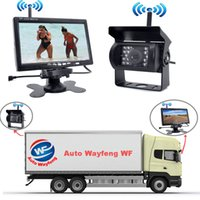 Wholesale camera detection system for sale - Wireless IR Rear View Car DVR Recorder Back up Camera Night Vision System quot Monitor for RV Truck Free Shiping