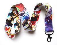 ingrosso cordicella del collo del cuore-Catena chiave all'ingrosso della catena della cinghia del collo del telefono cellulare di LANYARD del telefono cellulare dei cuori di Kingdom Hearts 50pcs caldo nuovo Trasporto libero