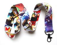 kalp boyun bandajı toptan satış-TOPTAN Yeni Sıcak 50 adet Kingdom Hearts Cep Telefonu LANYARD Cep Telefonu Boyun Askısı anahtarlık Ücretsiz kargo