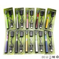 Wholesale ce4 blister kit vape resale online - CE4 EgoT Blister Kits Ego CE4 Starter Kits Ce4 Atomizer EgoT Full Capacity Battery mah mah mah Ego Vape Pen E Cigarette Kits