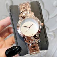 damen gold armband großhandel-Hign Qualitäts-neue Art- und Weisedame-Uhr mit Diamant-Luxusfrauen-Armbanduhr-Edelstahl-Japan-Bewegung Kleid-Armband-Uhr-Großverkauf