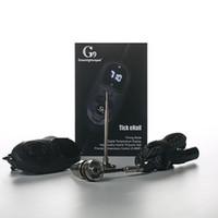 elektrischer nagelkit großhandel-G9 Tick Enail Verbinden Sie sich mit dem Power-Typ 16mm Heizregister Electric Dab Nail Portable Enail Tick E Nagel Starter Kit