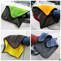 Wholesale car coral for sale - Car Cleaning towel Super Soft Microfiber Absorbent Towels cm Thick Wax Polishing coral fleece towels Car Cleaning Care Cloths GGA1033