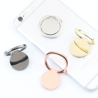 Wholesale rose pocket watch - magnetic Pocket watches Metal Ring Phone Holder Cell Phone Holder Fashion for iPhone 7 Plus Universal All Cellphone holder