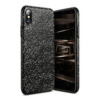 caixa do telefone do mosaico venda por atacado-Tampa da caixa do mosaico de luxo para iPhone X Utral Escudo do telefone fino para iPhone 8 7 6 Plus