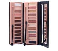 erdungs-kits großhandel-Heißer Verkauf make-up 12 farbe rauchigen erde schatten nude matt make-up lidschatten palette mit pinsel kit set 5673 #
