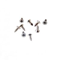 Wholesale wholesale hinges hardware - Free Shipping-Hot 200Pcs Silver Tone Fit Hinges Flat Round Head Self-Tapping Phillipws Fasteners Hardware 2*6mm Cusp Screws