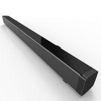 montaj fişi toptan satış-1 ADET LP-09 Ses Çubuğu Subwoof Bluetooth Hoparlör Ev TV Yankı Duvar Soundbar U-disk Takma Hoparlör Duvara monte Uzaktan Kumanda