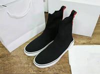 meilleures femmes achat en gros de-Nouveau style homme designer homme femmes chaussettes chaussures laine haut top triple s meilleur qualty luxe baskets en cuir véritable taille 35-46