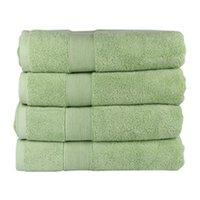 ingrosso asciugamano verde-Asciugamano da bagno ragazza di lusso verde 28 * 55 pollici cotone casa doccia piscina termale tennis asciugamani spessi assorbenti asciugamano per le mani per le donne