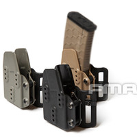 ingrosso riviste airsoft-Nuovo Tactical Airsoft Kydex AR Magazine Holster Carrier 5.56 per Pouch Belt BK / DE / FG