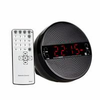 Wholesale Mp3 Player Alarm Clock Radio - Bluetooth Alarm Clock FM Radio Wireless Desktop Tabletop Radio Receiver MP3 Player With Remote Control & Voice Reminder Y4413A