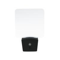 Wholesale plug night lights sensor resale online - Mini RGB LED Optical Night Lamp Built in Light Sensor US Wall Plug RGB Lights Blank Acrylic Plate Factory CE FCC UL