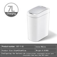 Hot selling Nashida intelligent sensor trash can electronic automatic induction household kitchen bathroom toilet waterproof trash