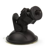 Wholesale gps car holders for sale - Car Mount Holder DV GPS Camera Stand r Auto Car DVR Holder Styling Mini Suction Cup Mount Tripod Holder