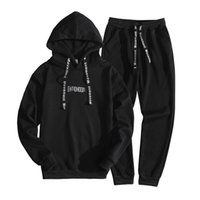 Wholesale Korean Men Hooded Sweater Jacket - 2018 sweater men's hooded clothes spring youth casual suit students Korean trend sports jacket