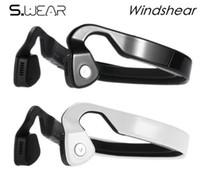 18 kulaklık toptan satış-Orijinal WindShear Kemik Iletim Kablosuz Bluetooth Kulaklık Açık Spor kulaklık PK LF-18 kulaklıklar