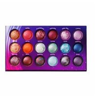 Wholesale baked goods - 2018 Galaxy Chic Eye shadow palette 18 color Baked Eyeshadow Palette Galaxy Chic Baked eyeshadow palette good gift