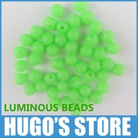 Wholesale jig lures for sale - box stamp UGOB44 mm mm Premium Green Color Small Round Soft Rubber Luminous Beads Lumo Glow Beans Sabiki Snapper Rig Lure Box