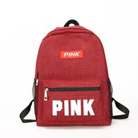 mochilas rosa venda por atacado-Rosa Designer de Mochilas Mulheres Novas Lantejoulas PINK Mochilas Mochilas de Ombro Mochilas de Moda PU Bolsa De Couro do Estudante Mochila Escolar Sacos