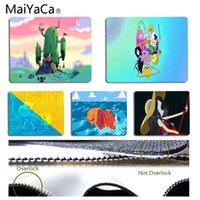Wholesale adventure time finn jake - MaiYaCa Sales Adventure Time with Finn and Jake Office Mice Gamer Soft Mouse Pad Size for 18x22cm 25x29cm Rectangle Mousemats