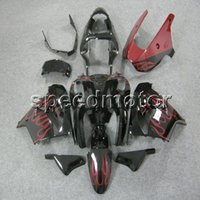 WYNMOTO Unpainted Full Fairing Kit For ZX9R 2002 2003 ZX-9R 02 03 ABS Plastic Motorcycle Bodywork Cowlings