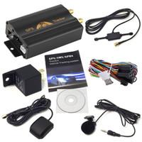 Wholesale car gps for sale - GPS Tracker Car Tracking Device Crawler Retainer Coban TK103B Cut Off Oil GSM GPS Locator Voice Monitor Shock Alarm FREE Web APP