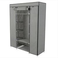 schrankablage groihandel-praktische 5-Schicht tragbarer Wandschrank-Speicher-Organisator-Garderoben-Kleiderständer mit Regalen