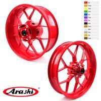Arashi For Honda CBR1000RR 2008 - 2016 Front Rear Wheel Rim CBR 1000 RR CBR1000 1000RR Red 2009 2010 2011 2012 2013 2014 2015