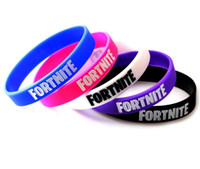 Wholesale jelly glow online - FORTNITE Bracelets Kids Birthday Party Favors New Cartoon Game Fortnite Silicone Bracelet Baby Toys Color