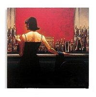 Wholesale brent lynch - Framed Cigar Bar Woman by Brent Lynch,Pure Handpainted Modern Decor Pop Art Oil Painting On Canvas.Multi Sizes,Free Shipping my 03