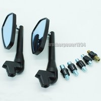 Wholesale motorcycle triumph - Motorcycle 8mm 10mm Accessories Rearview Side Mirrors for Ducati Suzuki Honda Yamaha, Kawasaki Triumph KTM