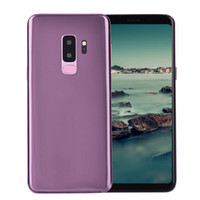 Wholesale smartphone 8gb - Purple Goophone 9 Plus 3G WCDMA Back Fingerprint Face ID Iris Quad Core MTK6580 1GB 8GB+32GB Android 7.0 6.3 inch IPS 1280*720 HD Smartphone