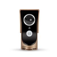 video a prueba de agua al por mayor-2,8 mm de gran angular 3Mp lente grande a prueba de agua El timbre inteligente de video WIFI es compatible con el control remoto por APP en el móvil
