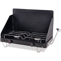 Wholesale Camping Propane Gas Stove Double Burner Portable Outdoor Cooktop Camp Cooking