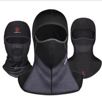 Wholesale combat cap hat resale online - Balaclava Full Face Mask Combat Hats Tactical Bicycle motorcycle windproof Skiing dust tactics Face Mask Hood Cap KKA6019