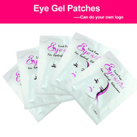 Wholesale extension eye patch resale online - 30 pairs set Eyelash Pads Gel Patch Under Eye Pads Lint Free Lashes Extension Mask Makeup