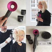 Wholesale hot air iron - New arrival Hair drier US EU Plug Hair drier Iron 3 level with Temperature control DHL Free